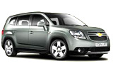 Chevrolet Car Hire at Athens Airport - Eleftherios Venizelos ATH, Greece - RENTAL24H