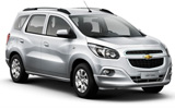 Chevrolet Car Hire at São Paulo - Viracopos - Campinas Intl. Airport VCP, Brazil - RENTAL24H