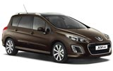 Peugeot Car Hire at Sogndal Airport SOG, Norway - RENTAL24H