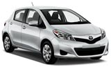 Toyota Car Hire at Saint Pierre Airport ZSE, Réunion - RENTAL24H