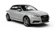HERTZ Car hire Paphos City Convertible car - Audi A3 Convertible