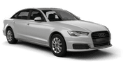 EUROPCAR Car hire Waren Luxury car - Audi A6