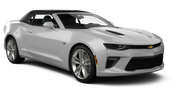 THRIFTY Car hire Las Vegas - Airport Convertible car - Chevrolet Camaro Convertible