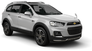 SISSY Car hire Budapest - Airport Suv car - Chevrolet Captiva