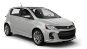 BUDGET Car hire Barrie Compact car - Chevrolet Sonic