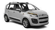 THRIFTY Car hire Budapest - Airport Van car - Citroen C3 Picasso