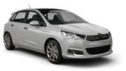 ALAMO Car hire Le Port Standard car - Citroen C4