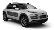 THRIFTY Car hire Budapest - Airport Compact car - Citroen C4 Cactus