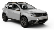 ALAMO Car hire Le Port Suv car - Dacia Duster
