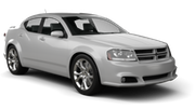 BUDGET Car hire Las Vegas - Airport Standard car - Dodge Avenger