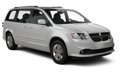 NU Car hire Las Vegas - Airport Van car - Dodge Caravan