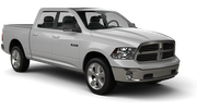 DOLLAR Car hire Las Vegas - Airport Van car - Dodge Ram