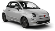 GREEN MOTION Car hire London - Airport - Heathrow Mini car - Fiat 500