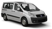 EUROPCAR Car hire Gosier - Building Shoca Van car - Fiat  Scudo