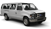 AVIS Car hire Orlando - Airport Van car - Ford Econoline