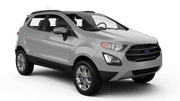 SIXT Car hire Gosier - Building Shoca Suv car - Ford Ecosport