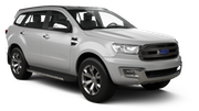 SIXT Car hire Beira - Airport Suv car - Ford Everest