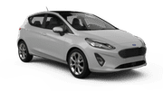 AIDA Car hire Limassol City Economy car - Ford Fiesta