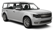 ALAMO Car hire Las Vegas - Airport Exotic car - Ford Flex