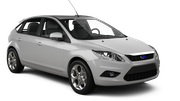 EUROPCAR Car hire Limassol City Compact car - Ford Focus