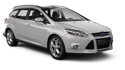HERTZ Car hire Heviz - Downtown Standard car - Ford Focus Estate
