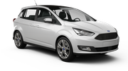 AVIS Car hire Belgrade - Airport Van car - Ford Grand C-Max