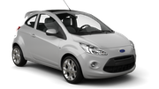 SIXT Car hire Narvik Mini car - Ford Ka
