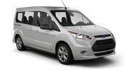 GLOBAL RENT A CAR Car hire Larnaca - Airport Van car - Ford Tourneo