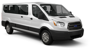 ENTERPRISE Car hire London - Airport - Heathrow Van car - Ford Transit Passengervan