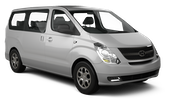 DOLLAR Car hire Tbilisi Downtown Van car - Hyundai H1