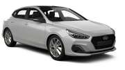 BUDGET Car hire Limassol City Compact car - Hyundai i30
