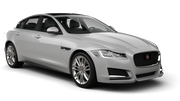 HERTZ Car hire Las Vegas - Airport Fullsize car - Jaguar XF