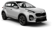 AVIS Car hire Seoul - Express Bus Terminal Suv car - Kia Sportage