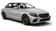 EUROPCAR Car hire Limassol City Fullsize car - Mercedes C Class