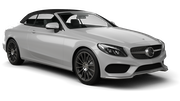 EUROPCAR Car hire London - Airport - Heathrow Convertible car - Mercedes C Class Convertible