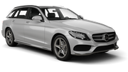 SIXT Car hire Waren Standard car - Mercedes C Class Estate