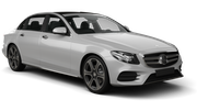 EUROPCAR Car hire Limassol City Luxury car - Mercedes E Class