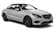 AVIS Car hire Larnaca - Airport Convertible car - Mercedes E Class Convertible
