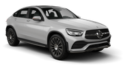 HERTZ Car hire Heviz - Downtown Suv car - Mercedes GLC