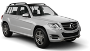 SIXT Car hire Waren Suv car - Mercedes GLK