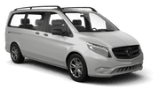 EUROPCAR Car hire Belgrade - Airport Van car - Mercedes V Class