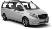 SIXT Car hire Waren Van car - Mercedes Vito
