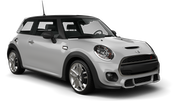 SIXT Car hire London - Airport - Heathrow Economy car - Mini Cooper