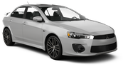 SIXT Car hire Santo Domingo - Novocentro Mall Standard car - Mitsubishi Lancer