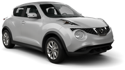 EUROPCAR Car hire Larnaca - Airport Suv car - Nissan Juke