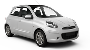 AERCAR Car hire Limassol City Economy car - Nissan March