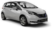 NISSAN Car hire Nagoya - Downtown Economy car - Nissan Note