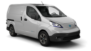 EUROPCAR Car hire Limassol City Van car - Nissan NV200