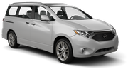 DOLLAR Car hire Baltimore - Airport Van car - Nissan Quest