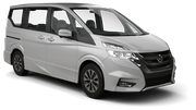 NISSAN Car hire Nagoya - Downtown Van car - Nissan Serena